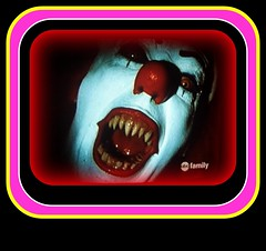 ABC Family (larryfishkorn) Tags: clown it abc nightmare namethatfilm clowny ntf abcnetwork