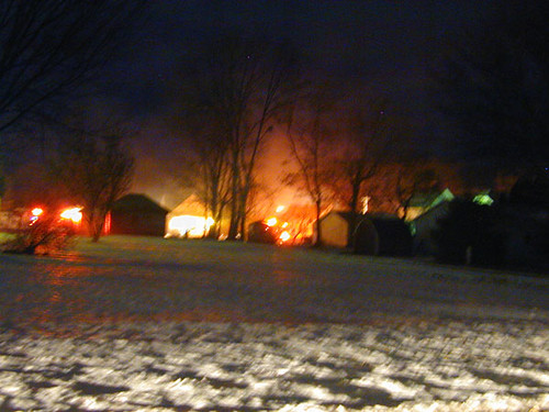 Monmouth Fire 28 Jan 2007