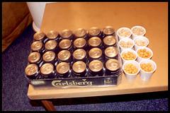 beerandnuts (watchingthephone) Tags: carlsberg releaseparty agentsimple shakinganegg
