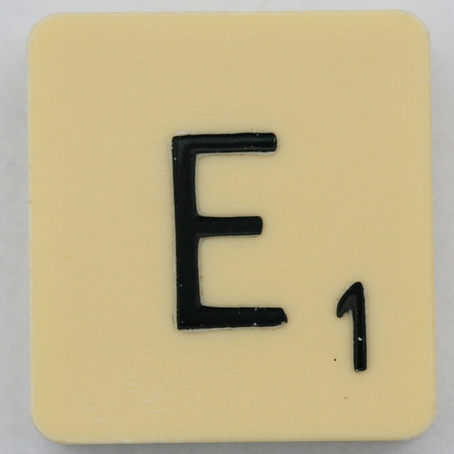 Scrabble Letter E by Leo Reynolds, on Flickr