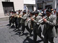 Arequipa festival horns