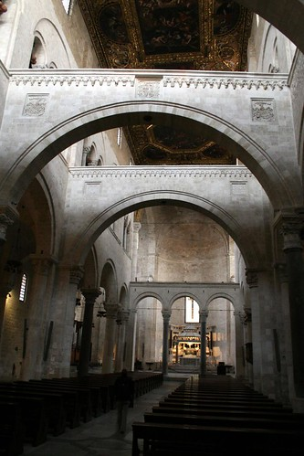 Interior, Basilica di San Nicola - look at that ceiling!