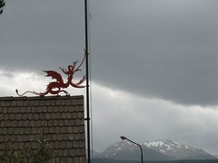 Welsh dragon in Trevelin