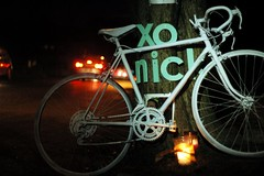 Ghost bike - Nick Bucher