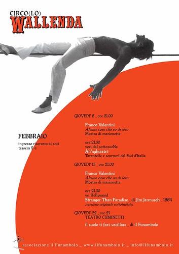 febbraio al circo(lo) wallenda
