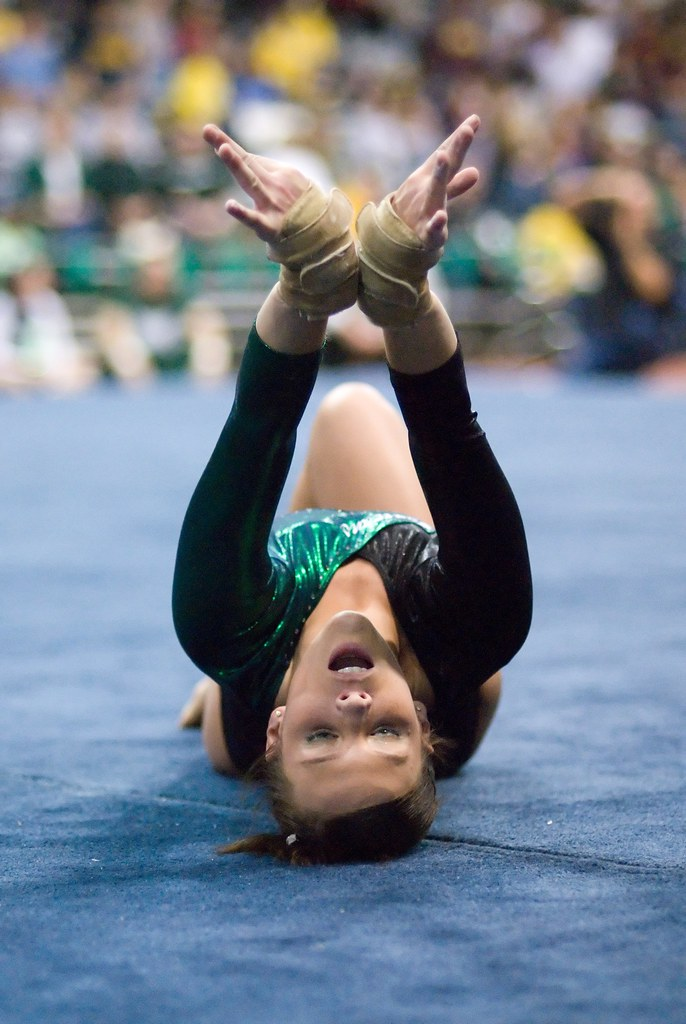 Pity, that Gymnast crotch close view are