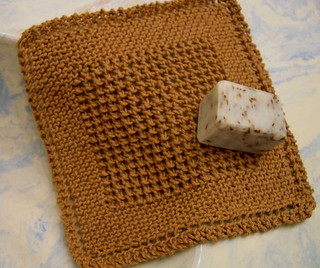 Knitting Pattern Dishcloth Knitted Diagonal : Ravelry: Diagonal Knit Dishcloth pattern by Jana Trent