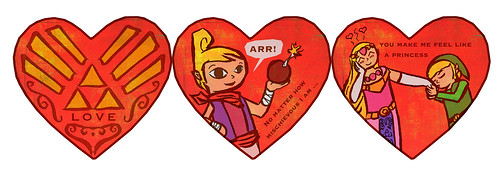 Legend Of Zelda Valentine S Day Card A Photo On Flickriver