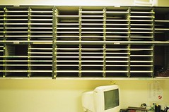 Photo of mail sorter