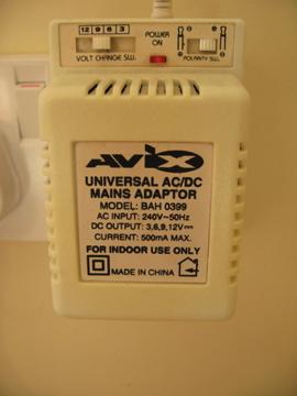Mains Adaptor