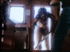 Bigfoot breaks into the ghost ship