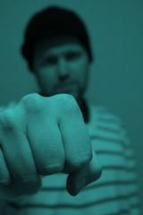 Pointed fist (two) (Mack2) Tags: me fist uppsala jag mig sonya100 knytnve
