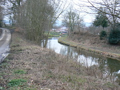 Robert Frost Moment (vw4y) Tags: england canal poem shropshire lane poet bleak february wintery oswestry lionsquay robertfrostmoment