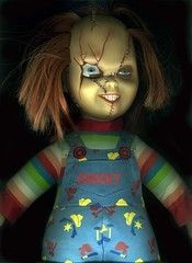 Chucky! (GALE47) Tags: mytoys dolls chucky nostalgia trashy themaleofthespecies bygones collecting surreal spooky