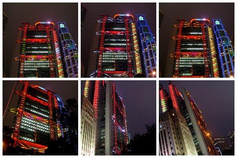 2007匯豐銀行總行燈飾
