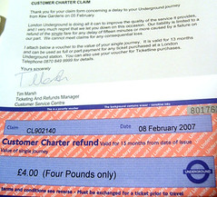 Customer Charter Refund