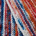 garter stitch homespun scarf