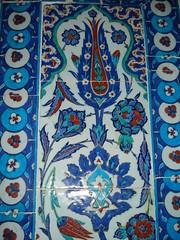 Di Dalam Rustam Pasha Mosque, Istanbul, Turkey