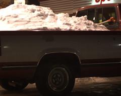 Hauling Snow (sbluerock) Tags: snow truck msh0207 msh020716