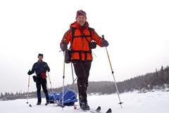 PICT2017B (Smiley Man) Tags: winter mountain skiing mountaineering sleds katahdin pulk baxterstatepark alpinist bcskiing