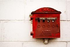 alarm (Rachel-B) Tags: seattle city red alarm washington downtown center