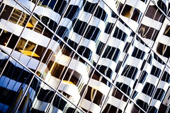 Go With the Flow (Thomas Hawk) Tags: sanfrancisco california city windows usa reflection building architecture unitedstates 10 unitedstatesofamerica diagonal financialdistrict som shakleeterraces 333marketst fav10 444marketstreet 444marketst skidmoreowingsandmerrill 1frontstreet 1frontst