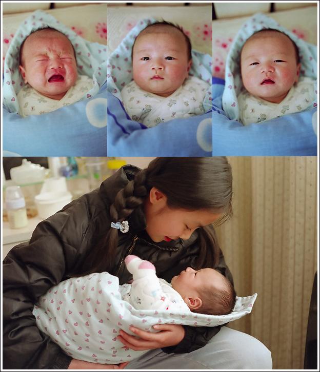 儿子满月之三 - wbwuxi - WANG BIN的个人主页