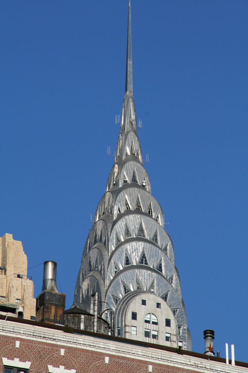 Chrysler Building pinnacle