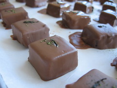 Hand-Dipped Jasmine Tea Chocolates