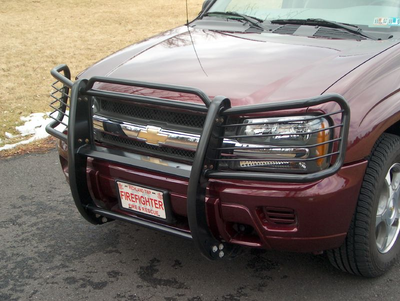 Hunter grille guard chevy trailblazer trailblazer ss and gmc report this image publicscrutiny Choice Image