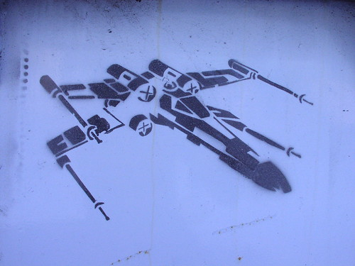 x-wing stencil · yip yup! egl meets star wars