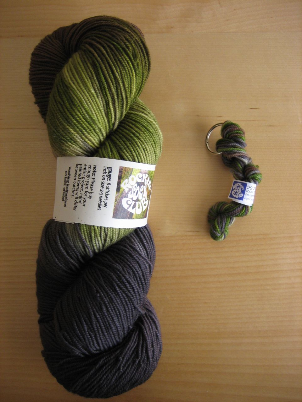 Monsoon STR yarn and emergency mini skein