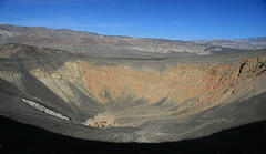 Uhehebe Crater - Death Valley, California (kjdrill) Tags: california park usa mountain southwest rock death us scenery desert scenic national american crater valley deathvalley lowest uhehebe