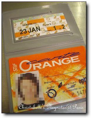 Carte d'Orange