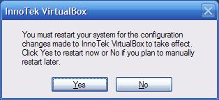 VirtualBox - aggiornarlo - 9 - disinstallazione - restart