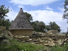 Kuelap ciudadela fortificada Chachapoya civilización pre-colombina Perú América del Sur