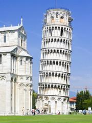 Pisa 2003 (kruijffjes) Tags: world italy tower heritage canon site italian toren unesco worldheritagesite pisa tuscany gdk toscane leaning worldheritage itali powershotg2 erfgoed heritagesite werelderfgoed gdk