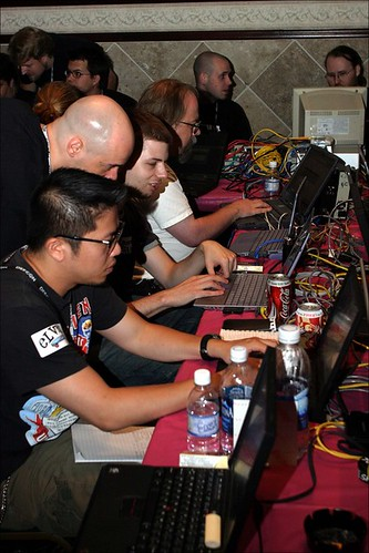 Hacking Competition, Red vs Blue Team