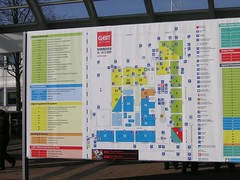 Plan of CeBIT 2007