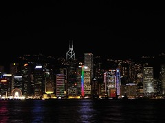Hong Kong Island Skyline from Kowloon