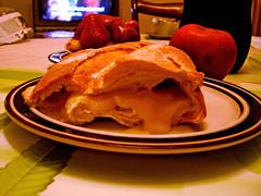 Da 21 - Sandwich (Pankcho) Tags: food apple cheese dinner postre table dessert march day cola manzana 21 venezuela comida strawberries plate coke sandwich queso meal melted plato da coca cena marzo mesa bala fresas fundido sanguche tartaleta fra 100venezuela