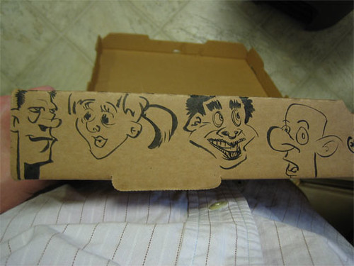 char28b - Pizza Box Doodles