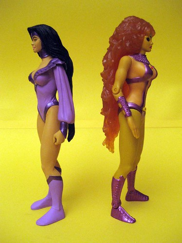 Nightstar and Starfire