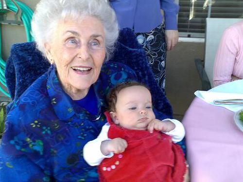Grandma Grace and Bella