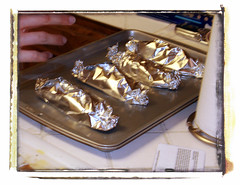 Step 3: cover up in foil