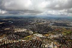 Brisbane: Bird's Eye View (Xenedis) Tags: brisbane aerial queensland qld australia aerialphotography