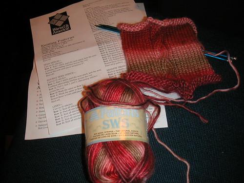 knitting at yarn harlot