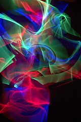 Glow Crazy (Ian Hayhurst) Tags: longexposure blue red green trails glowsticks abigfave chemiluminescent chemiluminescense