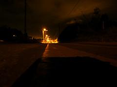 nocturna (Kill yr idols) Tags: street calle noche night darkness oscuridad dark oscuro streetlights postes penumbra nobsa boyacá