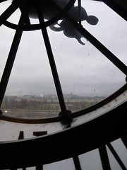 Paris through a clock in the wall (wanderland.space) Tags: paris france clock contrejour orsaymuseum museedorsay black indoor art museum seine